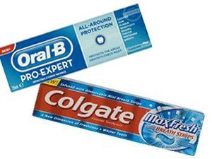 משחת שיניים קולגייט מול Oral-B - יקר ויקר יותר